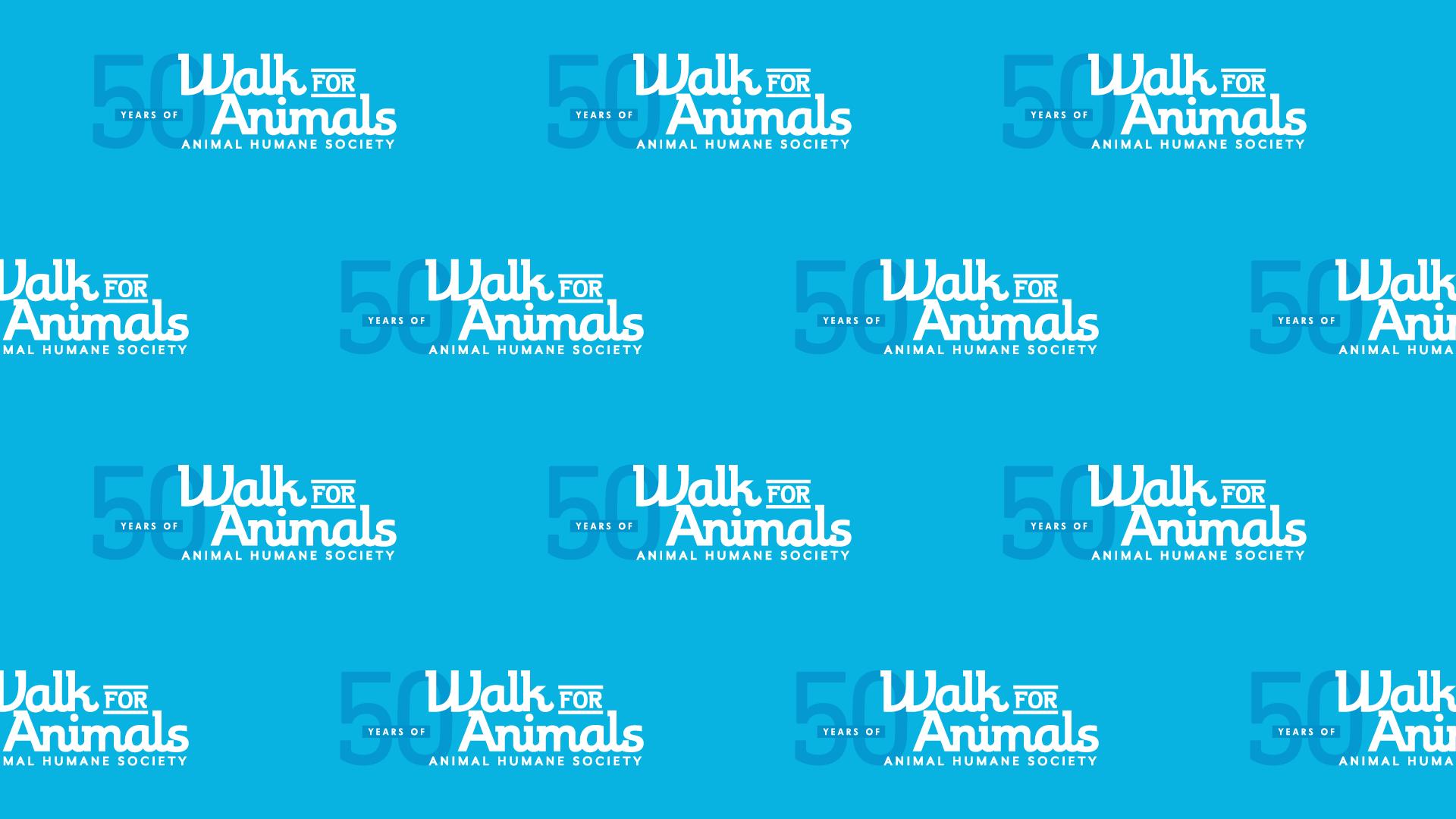 Walk for Animals background